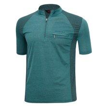 남성 국산 여름 스판 등산복 반팔 티셔츠 LM-H-310-04-청록