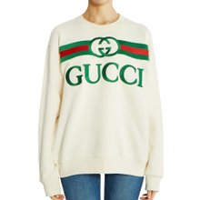 [구찌] 로고 오버사이즈 469250 XJCCG 9230 여자 긴팔 맨투맨 티셔츠