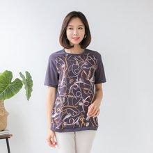 마담4060 엄마옷 로맨틱라운드티셔츠 QTE906019