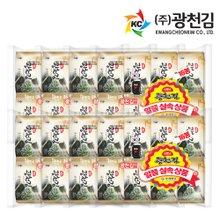 [광천김] 소문난 광천김 재래도시락김 16단x8팩 (총128봉)