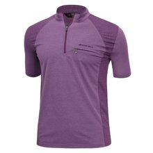 남성 국산 여름 스판 등산복 반팔 티셔츠 LM-H-310-05-퍼플