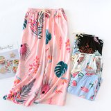 모스트2079 여성 잠옷 홈웨어 바지 8부 (4type)