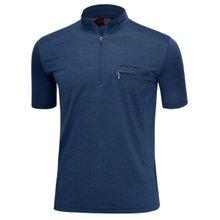 남성 국산 여름 스판 등산복 반팔 티셔츠 LM-H-311-01-네이비