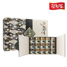 [광천김] 달인 김병만의 1호 선물세트(혼합캔김30g x 15ea)