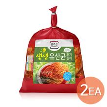 [종가집]생생유산균 포기김치 3.2kg x 2개