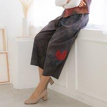마담4060 엄마옷 나뭇잎항아리생활한복 QKC903003