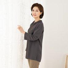 마담4060 엄마옷 지퍼카라블라우스-ZBL912013-