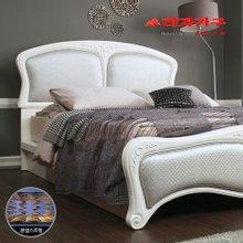 [라자가구]실버 나이트GM301 침대세트 퀸Q(본넬매트리스)