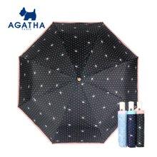 아가타 로고도트 완전자동우산 백화점우산