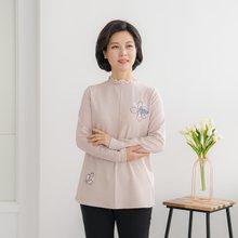 마담4060 엄마옷 꽃과진주티셔츠-ZTE001053-