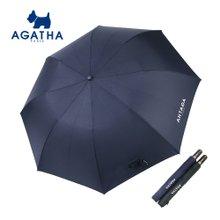 아가타 빅로고 자동 2단우산 백화점우산