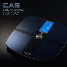 카스(CAS) 프리미엄 디지털 체지방 체중계 GBF-1257 (체중,체지방,체수분,근육량을 한번에 측정)