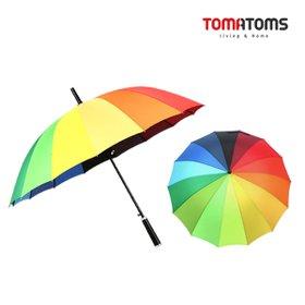 [토마톰스]무지개 자동 장우산(120cm/살대14개)외 12종/장우산 단우산