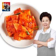 [마음심은] 요리연구가 배윤자 석박지 3kg / 국내산 농산물