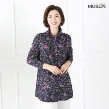 엄마옷 모슬린 와이어 페이즐리 블라우스 BL902052
