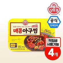 [오뚜기] 오감포차 매콤아구찜 235g X 4개