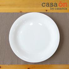 [까사미아까사온]더본화이트마인 25cm 접시