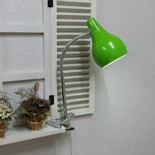 스프링 LED 집게 스탠드 (그린)