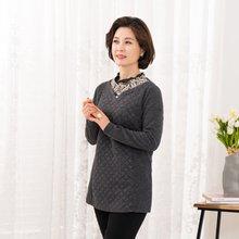 마담4060 엄마옷 내목에진주티셔츠-ZTE912156-