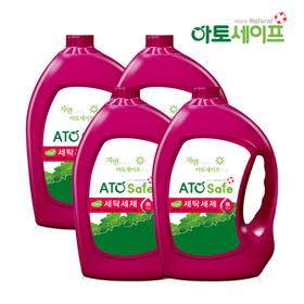 [아토세이프] 아토세이프 로하스인증 액체세제3.1L 4개