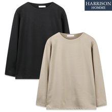 [해리슨] 분또 입술 라운드 긴팔 티셔츠 MJB1438
