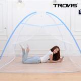 [트로비스] 해피드림 원터치 모기장 3-4인용 150cm 바닥있음