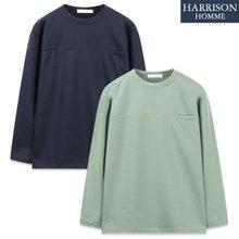 [해리슨] 분또 속포켓 긴팔 티셔츠 MJB1439