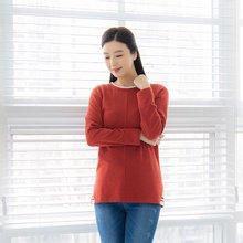마담4060 엄마옷 절개시보리티셔츠 ZTE001072