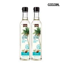코코엘  굳지않는 MCT 코코넛 오일 500ml 2병