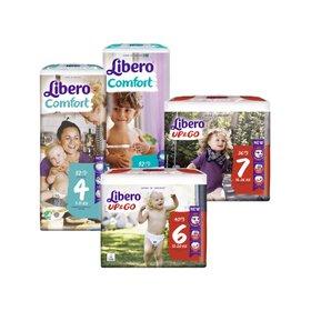 [리베로/LIBERO] 유럽 친환경 리베로 기저귀 팬티형/밴드형 1팩
