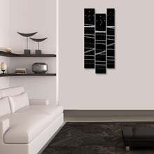 블랙스 3P 자작나무 액자 벽시계 CHR-3622