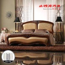 [라자가구]골드 나이트GM302 침대세트 퀸Q(독립매트리스)