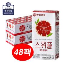 [연세우유] 스위플 레드오렌지 200mlX48팩