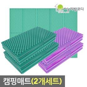 [리빙코디] [2개세트] 리빙코디 캠핑매트200x140