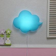 밝기조절 LED형 구름모양 벽등