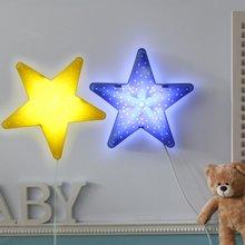 밝기조절 LED형 별모양 벽등