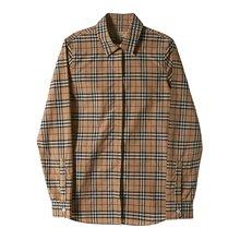 [버버리] 체크 코튼 셔츠 4073856 W CROW 2310L /135881