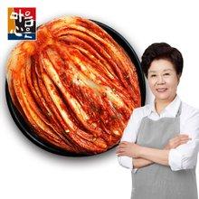 [마음심은] 요리연구가 배윤자 포기김치 5kg / 국내산 농산물