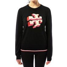 [토리버치] 로고 51233 001 여자 울 스웨터