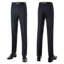 남자 겨울 캐주얼 패턴 슬랙스 양복 슈트 정장 바지 PO-A7-218-네이비