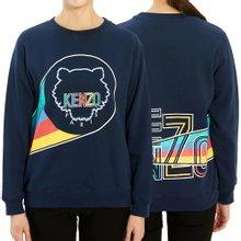 [겐조키즈] 로고 KP15588 04 14A16A 키즈 긴팔 기모 맨투맨 티셔츠 (성인착용가능)
