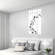 큐브 3P 자작나무 액자 벽시계 CHR-3612
