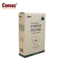 Comac 케이스 커피여과지 #4(100매)-FC3 [커피필터/거름종이/핸드드립/드립용품/커피용품]