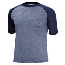 [파파브로]남성 여름 기능성 스판 라운드 반팔 쿨링 티셔츠 MB-MC-HNGR-네이비