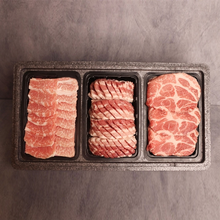 국내산 돼지고기 종합3종선물세트 1.2kg(삼겹살400g+목살400g+항정살400g)