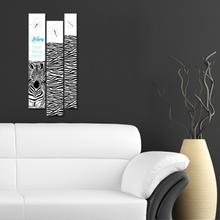 지브라 3P 자작나무 액자 벽시계 CHR-3607