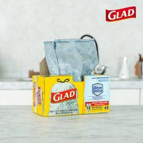 [GLAD공식]글래드 트래시백 빅 45개입/분리수거재활용백/다용도비닐봉투