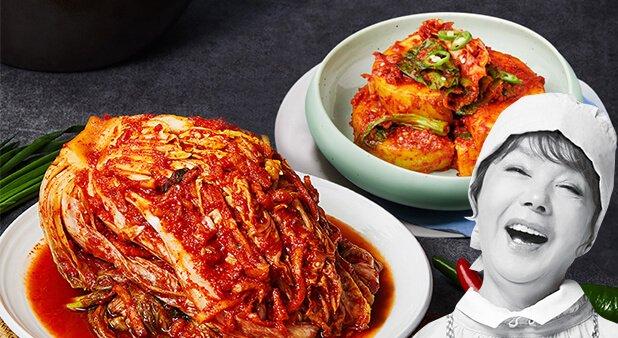 [김수미]엄마생각 포기김치9kg+갓석박지2kg