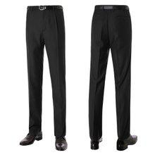 [파파브로]남성 기본 원턱 양복 정장 바지 LO-A9-80-블랙