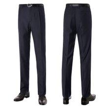 [파파브로]남성 기본 원턱 양복 정장 바지 LO-A9-81-네이비